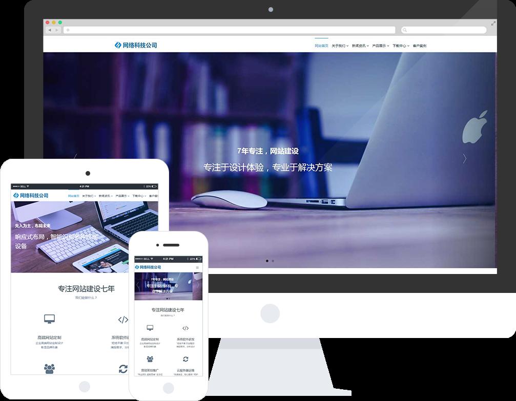 美容类公司响应式网站建设案例案例